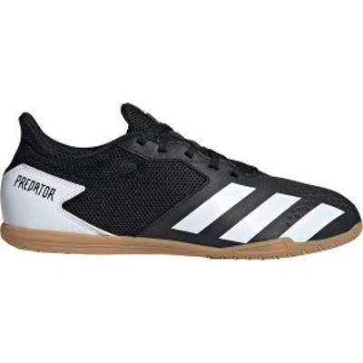 アディダス メンズ サッカー スポーツ adidas Men's Predator 20.4 Sala Indoor Soccer Shoes Black/White