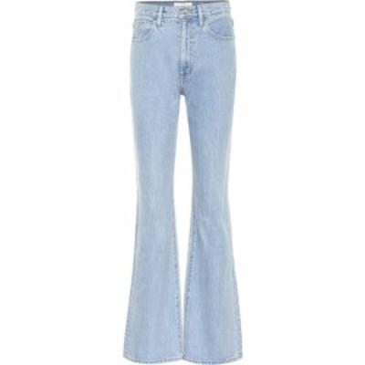 シルバーレーク Slvrlake レディース ジーンズ・デニム ボトムス・パンツ charlotte high-rise flared jeans Clearsky