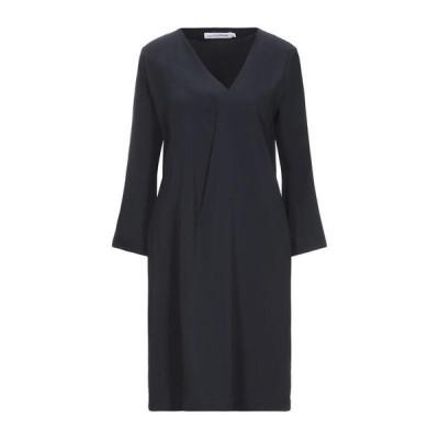 EUROPEAN CULTURE チューブドレス ファッション  レディースファッション  ドレス、ブライダル  パーティドレス ダークブルー