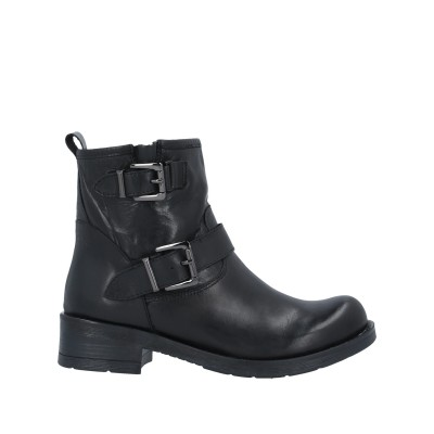 PREGUNTA ショートブーツ ブラック 36 牛革(カーフ) ショートブーツ