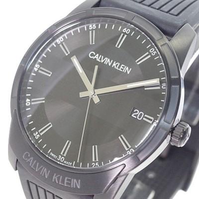 カルバンクライン CALVIN KLEIN 腕時計 メンズ K8R114D1 EVIDENCE エビデンス クォーツ ブラック