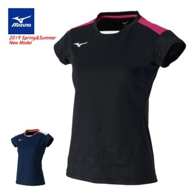 MIZUNO ミズノ ソフトテニス ウェア ゲームシャツ 半袖シャツ ユニホーム レディース 72MA9210  50%OFF バドミントン メール便OK 返品・交換不可