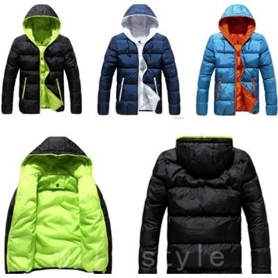 中綿ジャケットメンズ中綿コート軽量安いビジネスジャケットフード付き中綿入りアウターブルゾンジャンパー紳士服