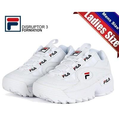 フィラ ディスラプター 3 フォーメーション FILA DISRUPTOR 3 FORMATION WHITE FS1HTB1831X WWT スニーカー 厚底 ホワイト メンズ レディース