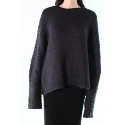 ファッション トップス Pol NEW Black Womens Size Large L Scoop Neck Knitted Long Sleeve Sweater