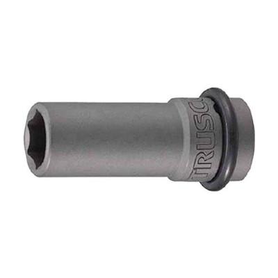 トラスコ中山(TRUSCO) TRUSCO インパクト用ロングソケット(差込角12.7)対辺14mm T414AL  3898351