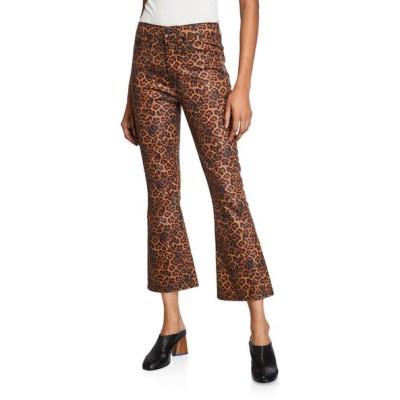 セブンフォーオールマンカインド レディース デニムパンツ ボトムス High-Waist Slim Kick Flare Jeans