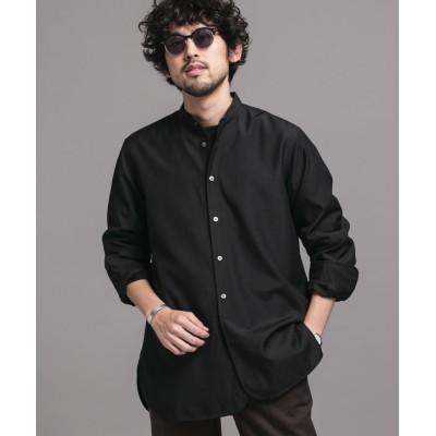 TWバンドカラーBIGシャツ 長袖