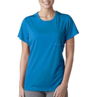 レディース 衣類 トップス 8420L UltraClub Women's Cool & Dry Sport Interlock Tee T Shirt グラフィックティー