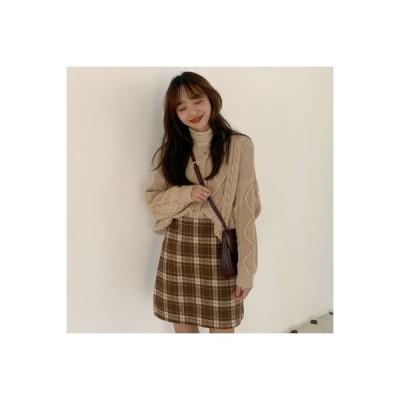 【送料無料】秋 年 女 韓国風 ルース ツイスト レトロ セーターコート グ | 364331_A63671-6107531