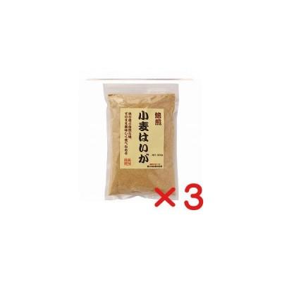 富士食品 無添加小麦はいが 焙煎粉末 【300g ×3個 送料無料・コンパクト便】