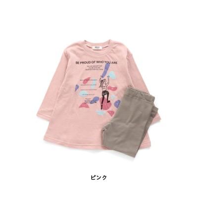 【BREEZE ブリーズ】Girl's ボルダリング柄パジャマ キッズパジャマ, Kids' Pajamas