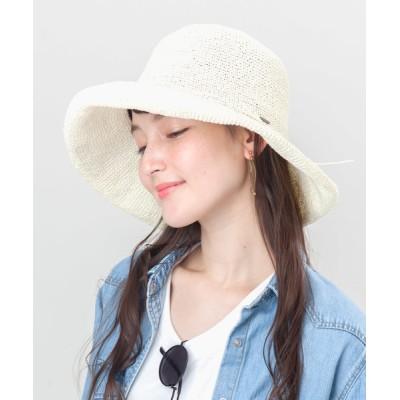 帽子屋ONSPOTZ / カブロカムリエ ストローハット KIMENO 帽子 レディース WOMEN 帽子 > ハット