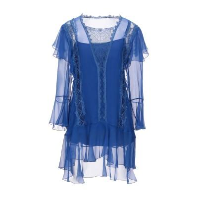 アルベルタ フェレッティ ALBERTA FERRETTI ミニワンピース&ドレス ブルー 40 シルク 100% / コットン / ナイロン ミニ