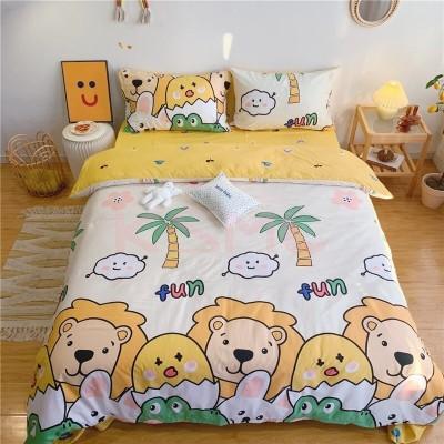 布団カバー セット ベッドカバー 寝具セット 枕カバー 子供用 3点セット 4点セット クイーン 洋式和式兼用 肌に優しい 16タイプ