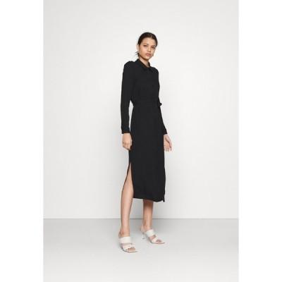 ヴェロモーダ ワンピース レディース トップス VMNIVA DRESS - Maxi dress - black