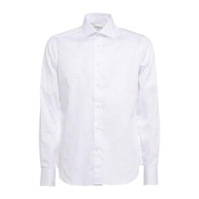 CALLISTO CAMPORA シャツ ホワイト 40 コットン 100% シャツ