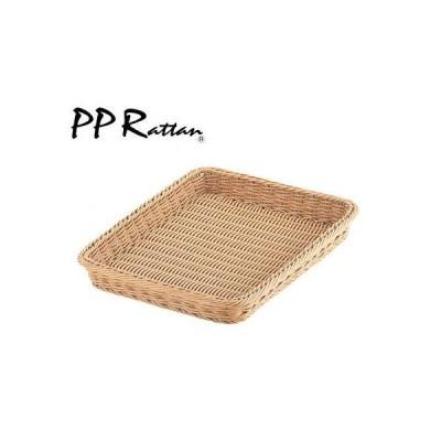 PP Rattan PP ベーカリー バスケット  アイボリー 32型 CO-703-IV WBS-49