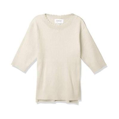 ジル バイ ジルスチュアート セーター スパークリングリブニット レディース ホワイト 日本 FR (FREE サイズ)