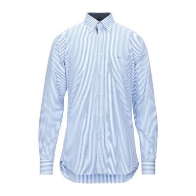 ポール・アンド・シャーク PAUL & SHARK シャツ アジュールブルー 41 コットン 100% シャツ