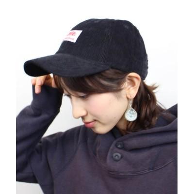 COLLARS / コーデュロイベースボールキャップ WOMEN 帽子 > キャップ