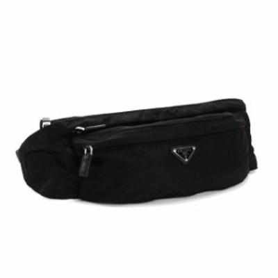 プラダ ウエストバッグ ウエストポーチ ベルトバッグ ボディバッグ レディース メンズ 新品 ナイロン 軽い 大人 ブランド 黒 ブラック