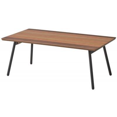 東谷 AZUMAYA フォールディングテーブル テーブル センターテーブル おりたたみテーブル エルマー 90cm幅 END-351