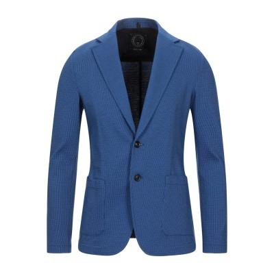 T-JACKET by TONELLO テーラードジャケット ブライトブルー M コットン 100% テーラードジャケット