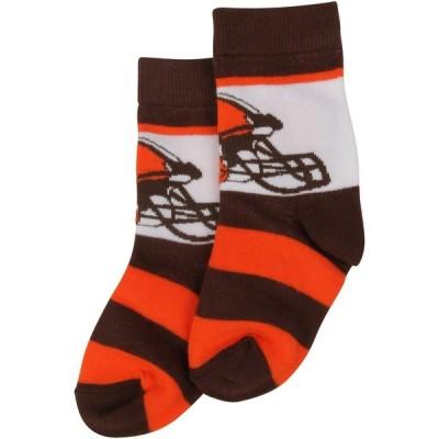 クリーブランド・ブラウンズ For Bare Feet Toddler Rugby Block Socks