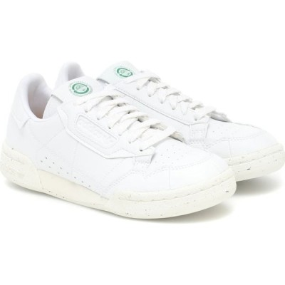 アディダス Adidas Originals レディース スニーカー シューズ・靴 Continental 80 Leather Sneakers Ftwwht/Owhite/Green