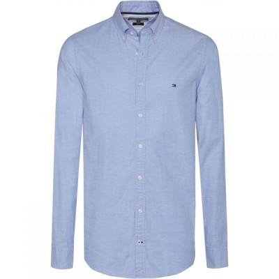 トミー ヒルフィガー Tommy Hilfiger メンズ シャツ スリム ワイシャツ トップス Core Stretch Slim Fit Oxford Shirt Light Blue