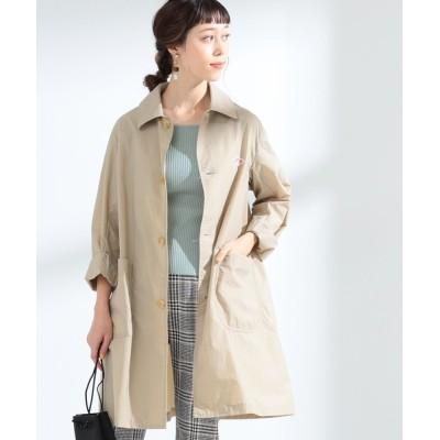 BEAMS WOMEN / DANTON / ナイロン タフタ コート WOMEN ジャケット/アウター > ステンカラーコート