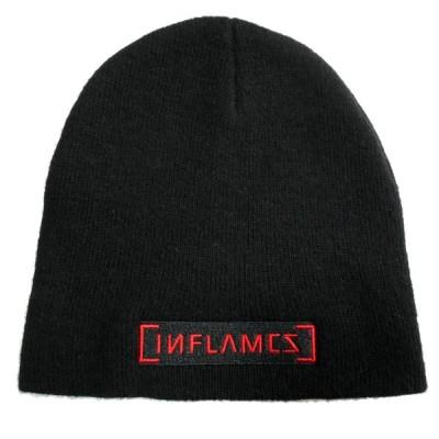 IN FLAMES イン・フレイムス ニット帽 LOGO 正規品