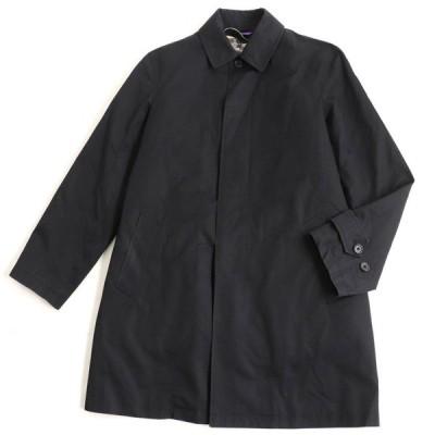 良品▽ポールスミス コレクション リバーシブル中綿入りライナー付き ステンカラーコート/ロングコート ブラック L 正規品 メンズ