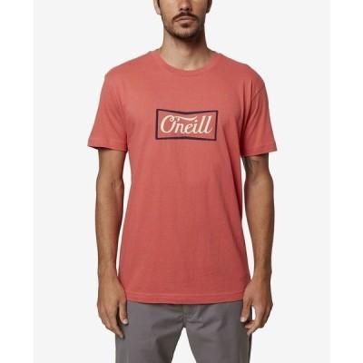 オニール Tシャツ トップス メンズ Men's Proclaim T-shirt Dark Red