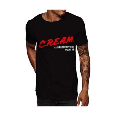 Swag Point ヒップホップ ビンテージ コットン100% グラフィックTシャツ US サイズ: Large カラー: マルチカラー並行輸入品