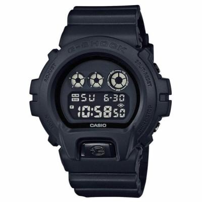腕時計 カシオ メンズ  Casio Men's G-Shock Black Out Basic Series All Black Resin Watch DW6900BB-1