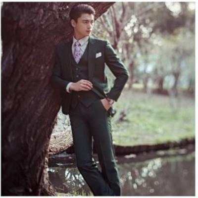 メンズファッション 3点セット メンズスーツ ビジネス セットアップ フォーマルスーツ リクルートスーツ
