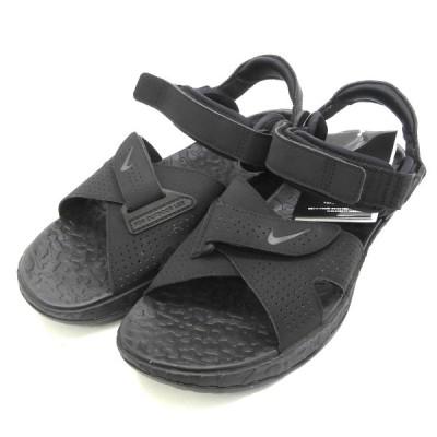 Nike ACG 「AIR DESCHUTZ」サンダル ブラック×オフホワイト×アイアングレー サイズ:26 (渋谷店) 201011