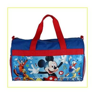 Disney Kids' Mickey Mouse Travel Duffle Bag, Blue,◇並行輸入品◇