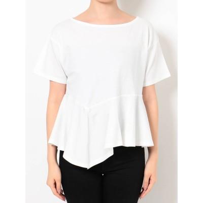 【公式】MURUA(ムルーア)イレヘムペプラムTシャツ
