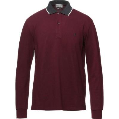 ブルックスフィールド BROOKSFIELD メンズ ポロシャツ トップス polo shirt Maroon