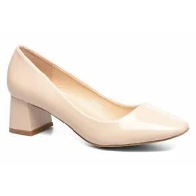 I Love Shoes レディースシューズ High heels KICART Beige NUDE CRINKLE PAT