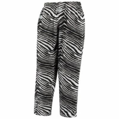 Zubaz ズバズ スポーツ用品  Zubaz Oakland Raiders Black/Gray Throwback Zebra Pants