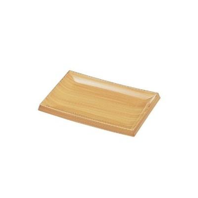 盛皿 7.5寸長角皿白木 幅230 奥行154 高さ28 /業務用/新品