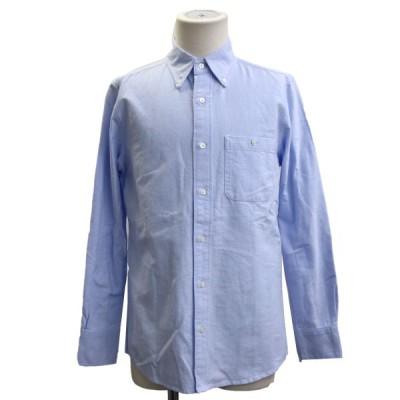 KOE×THOM BROWNE オックスフォードB.Dシャツ サックスブルー サイズ:S (銀座店) 200724