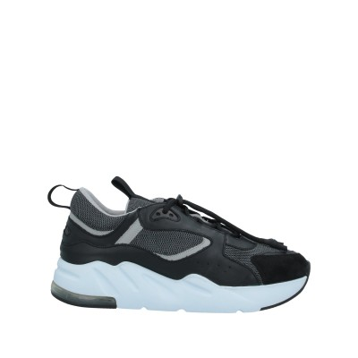 YLATI スニーカー&テニスシューズ(ローカット) ブラック 41 革 / 紡績繊維 スニーカー&テニスシューズ(ローカット)