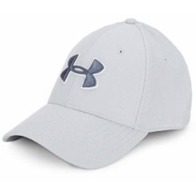 アンダーアーマー メンズ 帽子 アクセサリー Blitzing 3.0 Stretch Cap Mod Grey