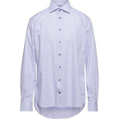 イートン ETON メンズ シャツ トップス Checked Shirt Sky blue