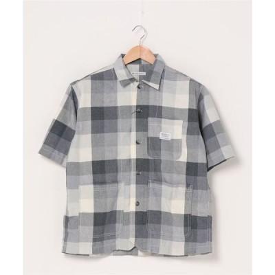シャツ ブラウス オープンカラーシャツ